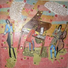 Dimensions 50x50cm Musique maestro