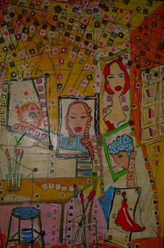 60x80cm Collection privée L'Atelier de Christine