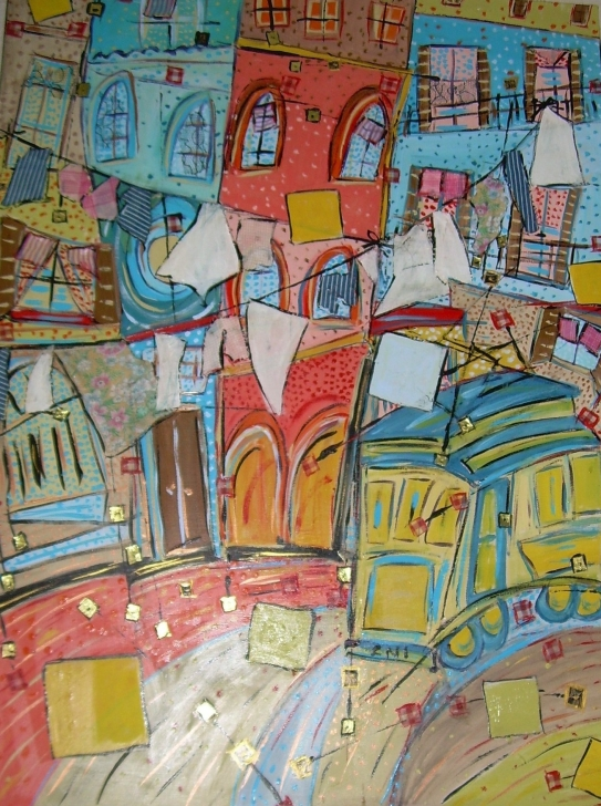 50x70 Bons baisers de Lisbonne
