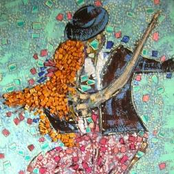 50x60cm La danse avec passion
