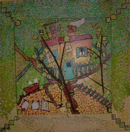 40x40cmLa Cabane dans l'arbre