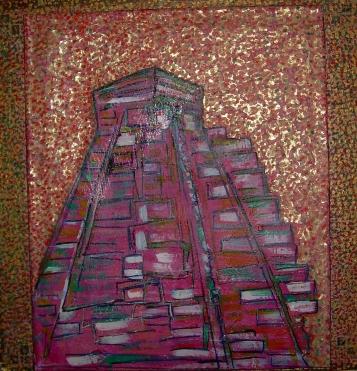 50x50cm Le Temple du Soleil