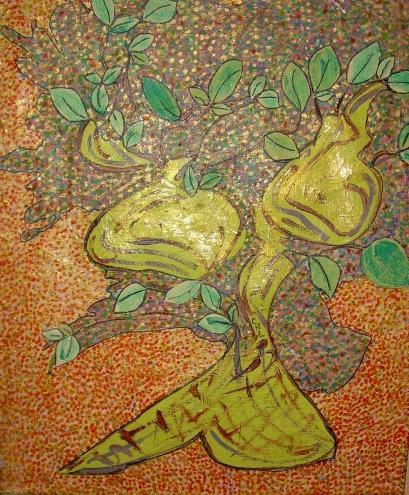 50x60cm L'arbre qui rêvait d'être Femme