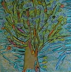 VenduL'arbre qui rêvait d'être un arbre 50x50cm