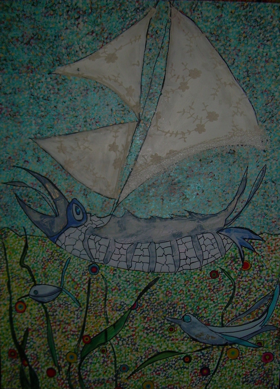 80x60cm Tarasqua Aquatica