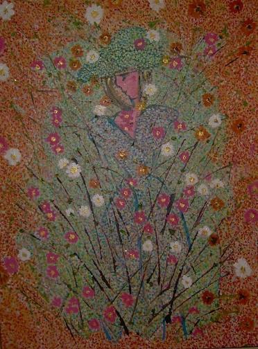 60x80cm Pour Lily-Rose, collection privée