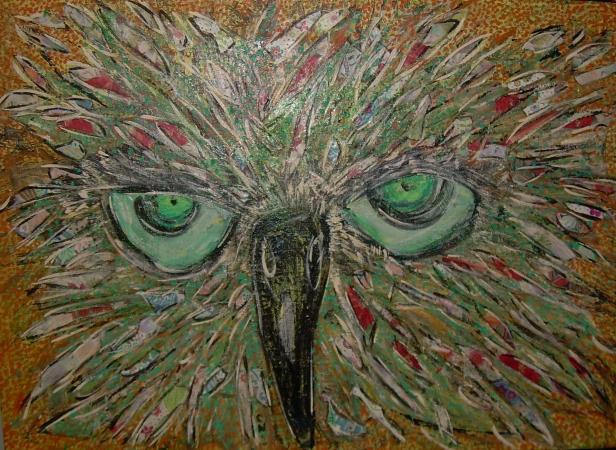 50x70cm Loeil de l'aigle