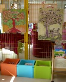 expo2019médiathèque staubin christine des oiseaux et des arbres