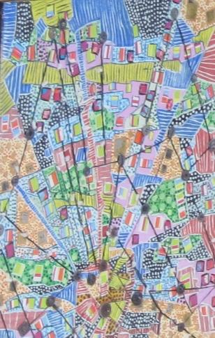 50x70cm Vendu La créativité en toile d'araignée