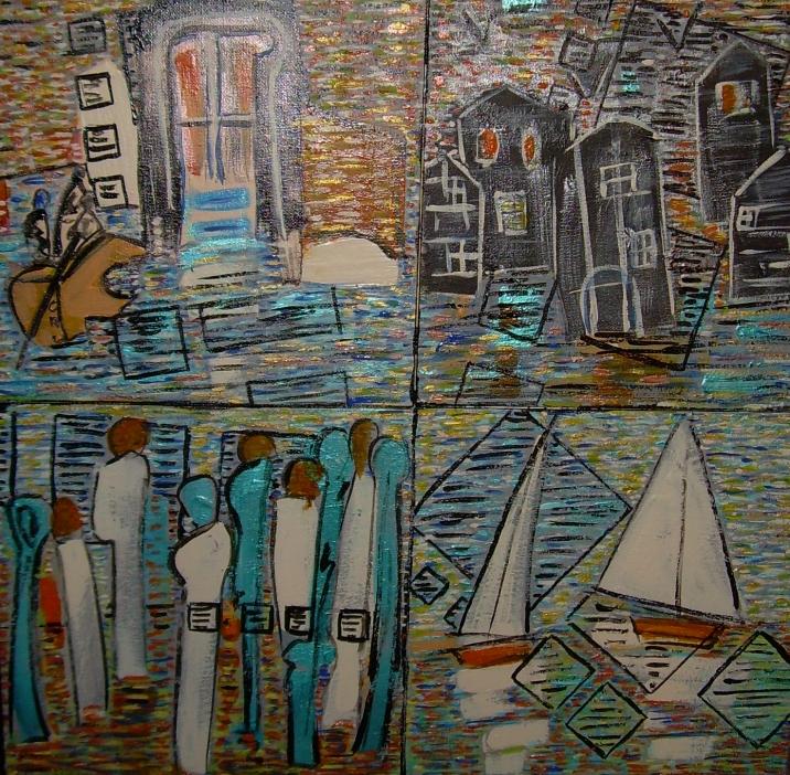 50x50cm Le Grand Passage Galerie Chaos