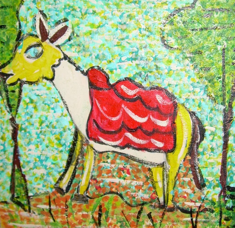 l'âne, les animaux de la ferme