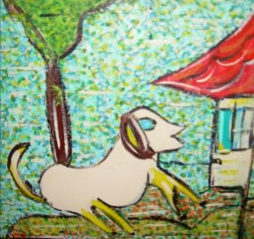 le chien, les animaux de la ferme