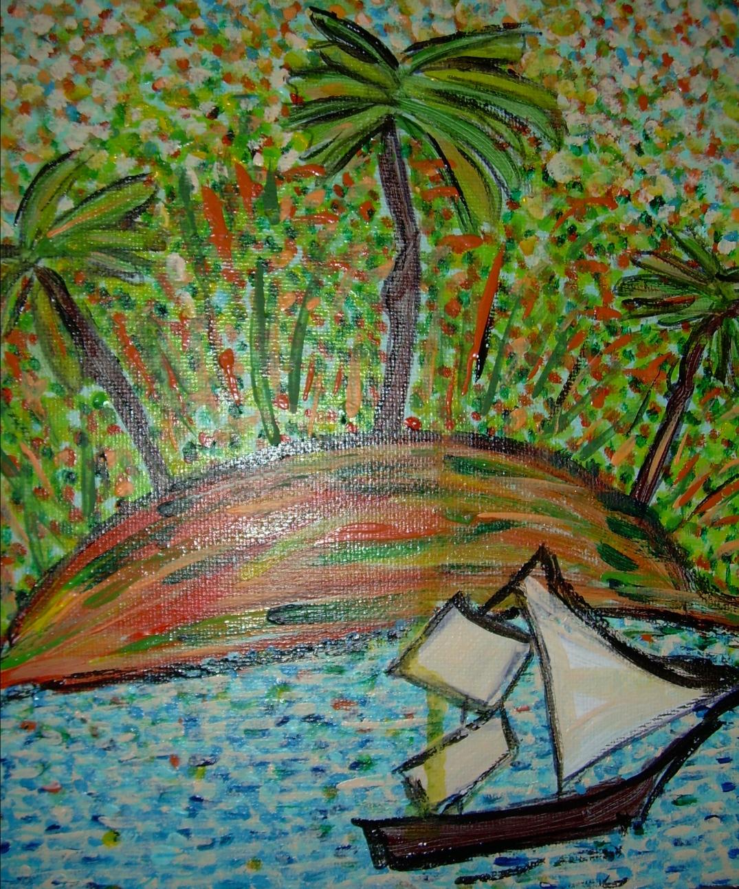 Une île à l'horizon ! Contes des mers du sud