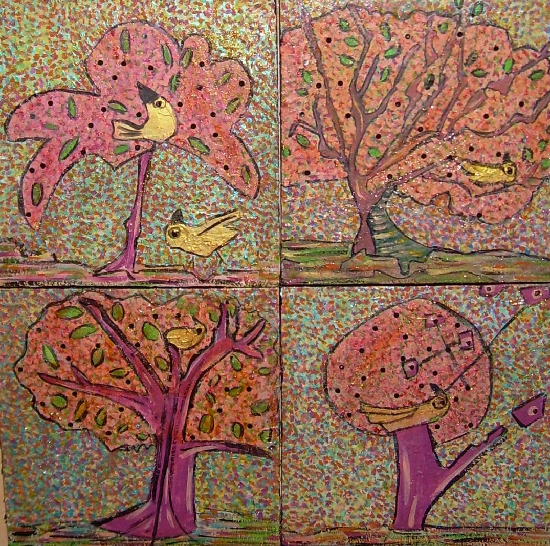 50x50cm D'arbre en arbre